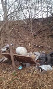 roadside dumping
