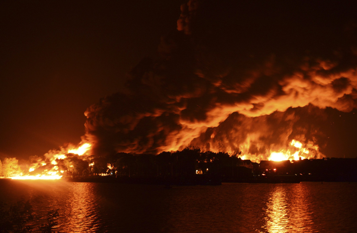 Lac Megantic train explosion