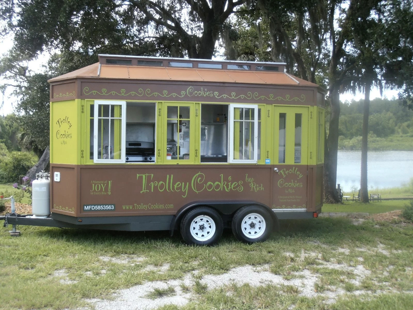 A food trailer like this could be a new enhancement for Herkimer Community College's new flood controlled picnic area