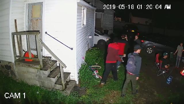 332 Pleasant Ave Herkimer gang members flee cops